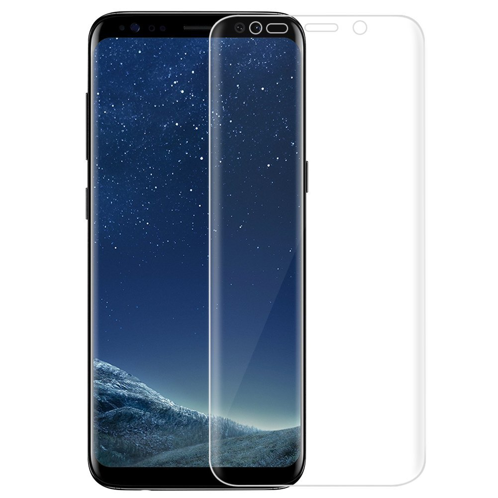 3D fólie na celý displej CLEAR - Galaxy S8, set 2ks