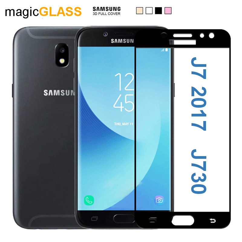 Prémiové ochranné sklo 5D Magic Glass Full Glue na Galaxy J7 2017
