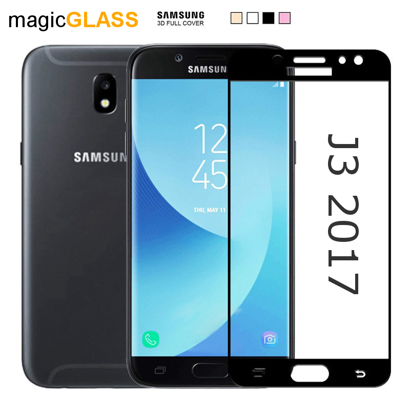 Prémiové ochranné sklo 5D Magic Glass Full Glue na Galaxy J3 2017