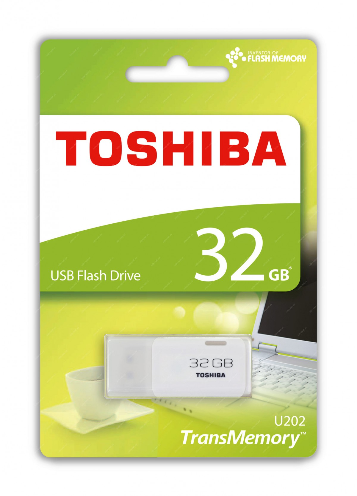 TOSHIBA 32GB Flash disk USB 2.0 U202 THN-U202W0320E4
